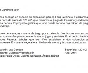 Jardinera 2014