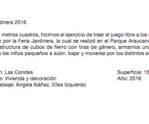 Jardinera 2016
