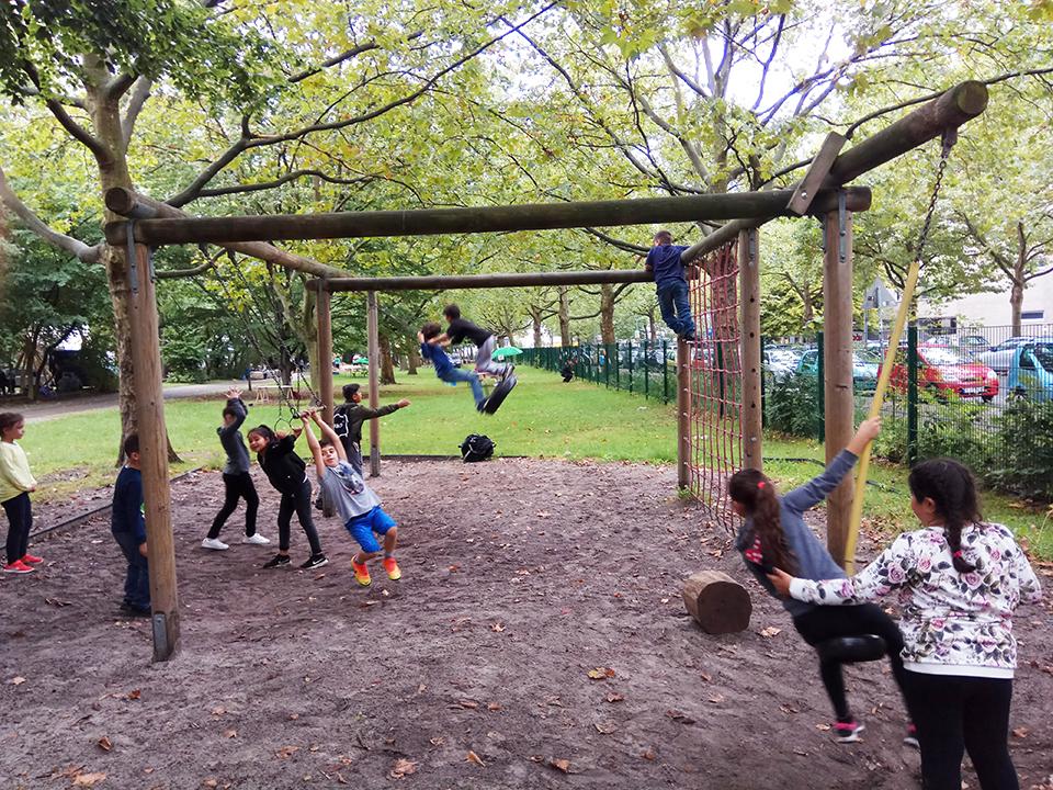 Diversidad en el patio escolar